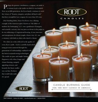 Root Candles Candle Burning Guide
