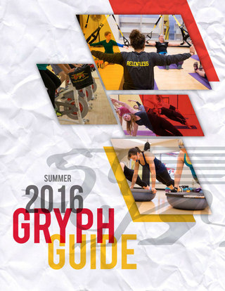 Summer 2016 Adult/Student Gryph Guide