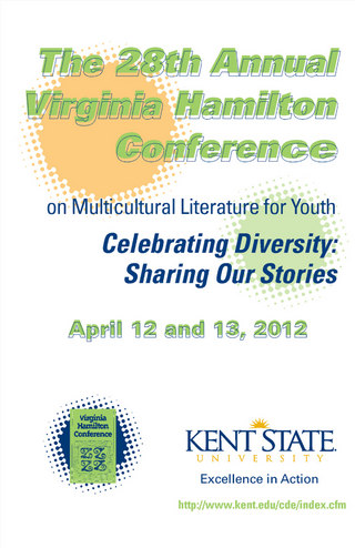 Kent State Virginia Hamilton Conference Brochure