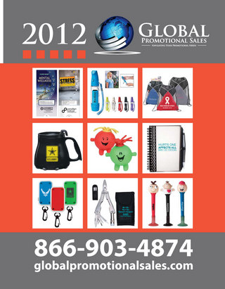 Global Promotional Sales Catalog