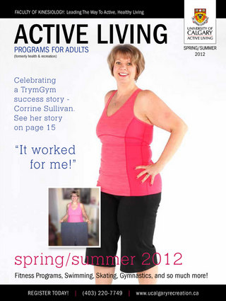 University of Calgary Active Living Program Guide