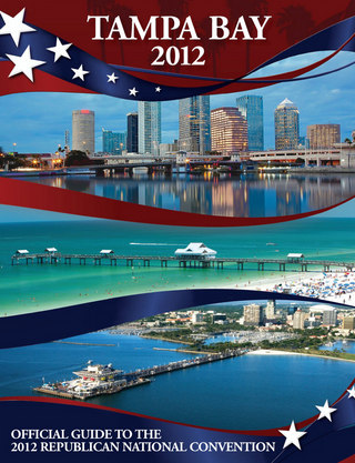 The Tampa Bay Section of the Official Guide to the 2012 Republican National Convention