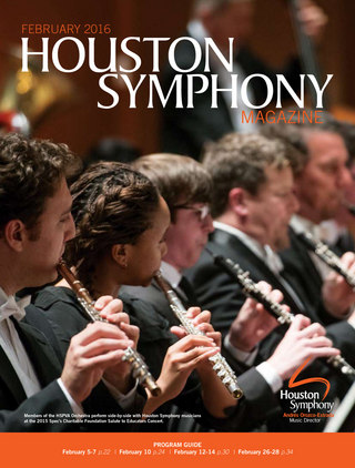 Houston Symphony Magazine