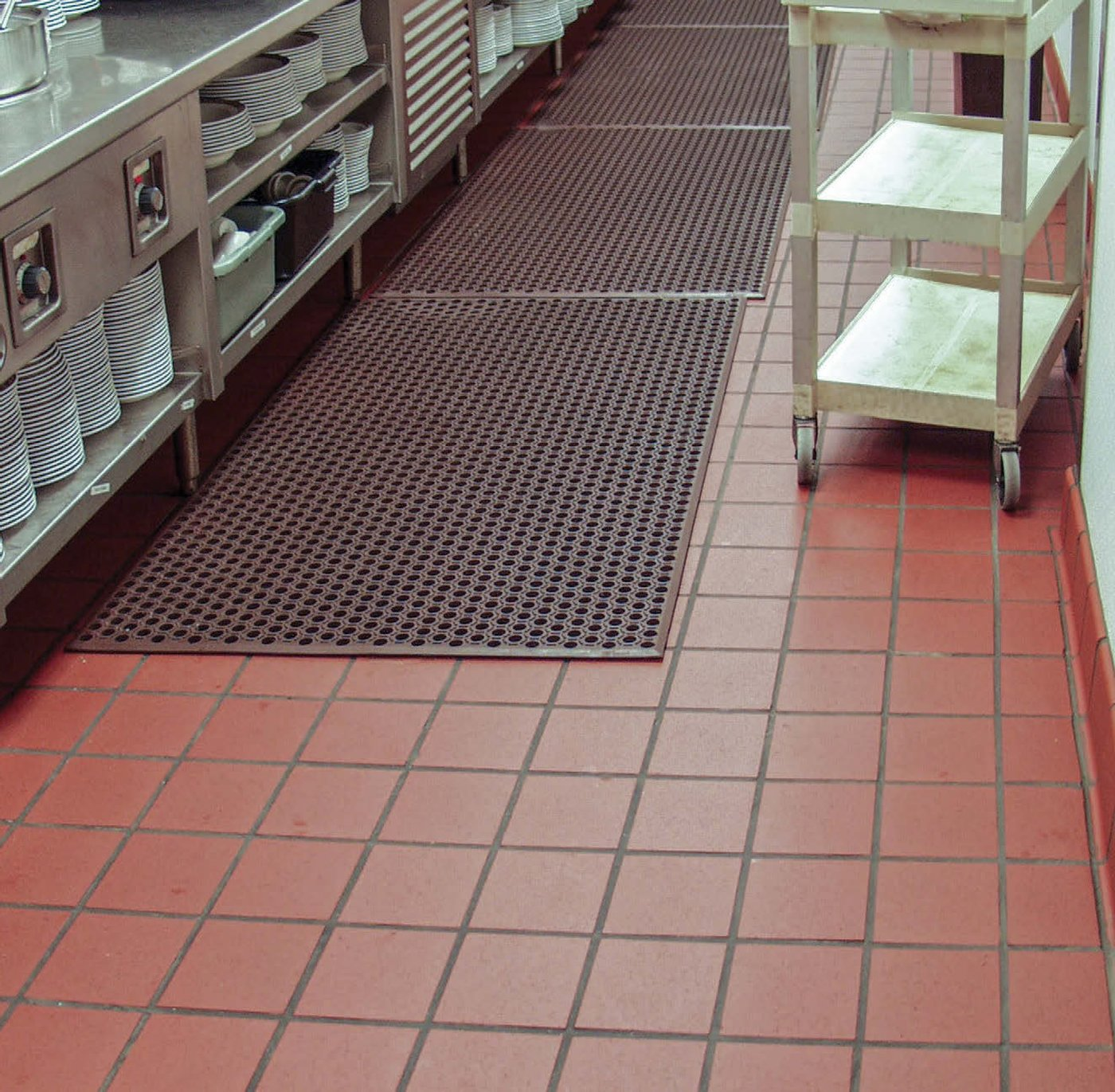 Tiling and Grouting Restaurant Commercial Kitchens
