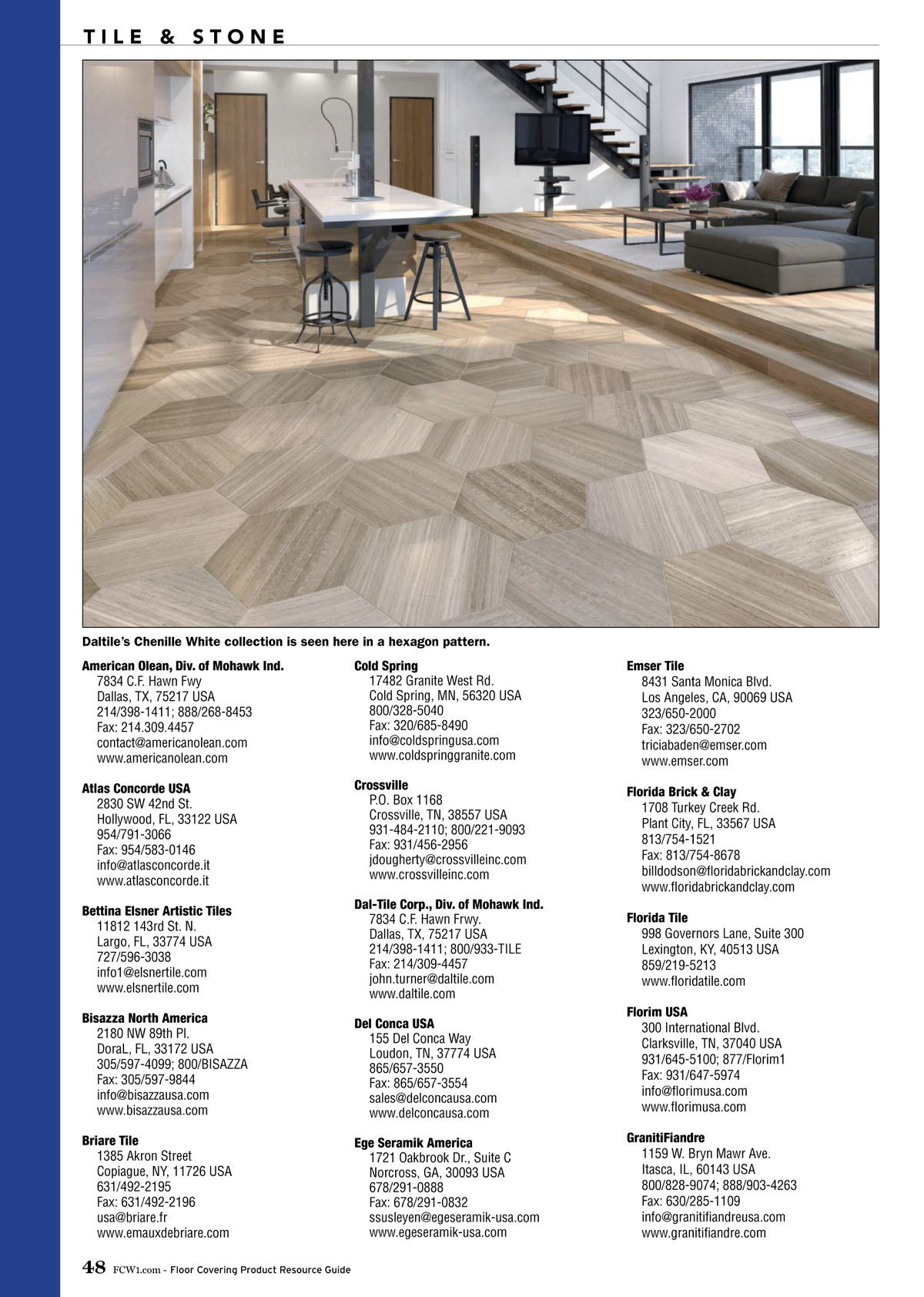 Floor Covering Weekly 2019 Product Resource Guide