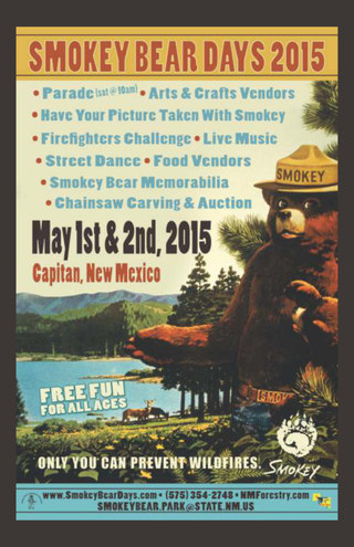 2015 Smokey Bear Days Program