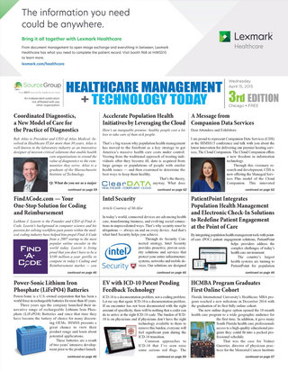 Healthcare Management And Technology Today