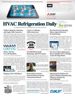 HVAC Refrigeration Daily