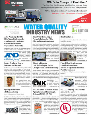 Water Quality Industry News