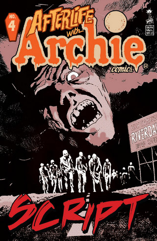 Afterlife With Archie #4: Script