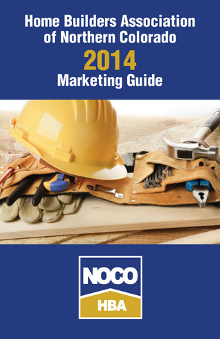 2014 NOCO HBA Marketing Guide