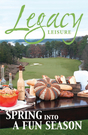 Legacy Leisure Event Guide Spring 2013