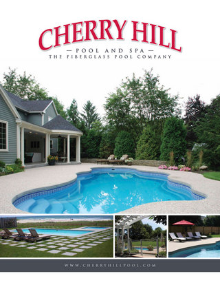 Cherry Hill Pools Catalog