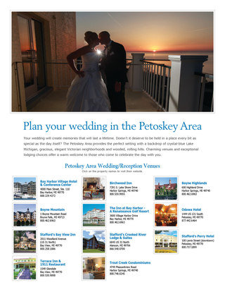 Petoskey Area Weddings