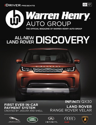 March - 2017 LAND ROVER DISCOVERY