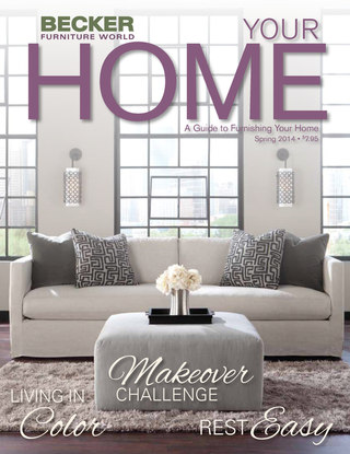 Becker Furniture May 2014 Magalog