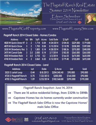 Flagstaff Ranch 2014 Newsletter