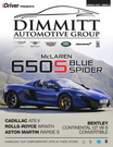 March 2015 650S BLUE SPIDER