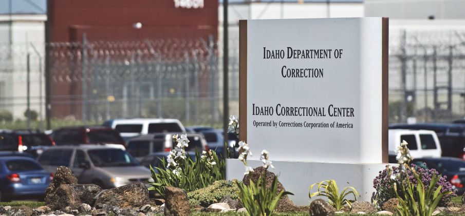 In this June 15, 2010 file photo, the Idaho Correctional Center is shown south of Boise, Idaho, operated by Corrections Corporation of America.  The Justice Department says it's phasing out its relationships with private prisons after a recent audit found the private facilities have more safety and security problems than ones run by the government.  Photo: AP Wide World Photos