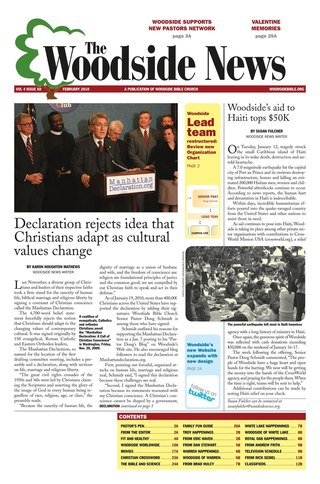 Woodside Bible News