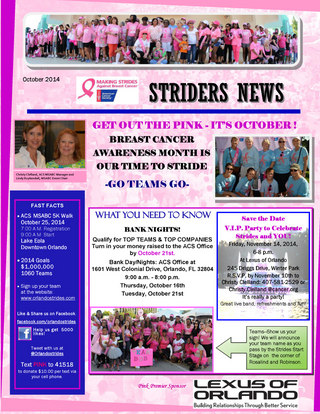 Striders News