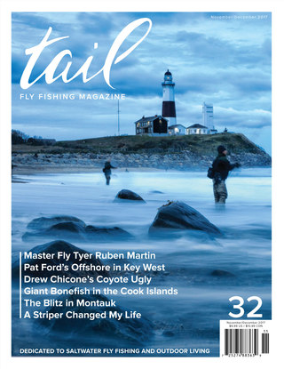 Tail Fly FIshing Magazine - Issue 32 November/December 2017