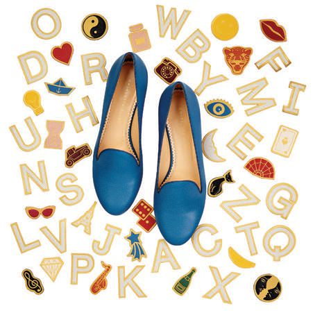 The ABC's loafer, $695, at Charlotte Olympia