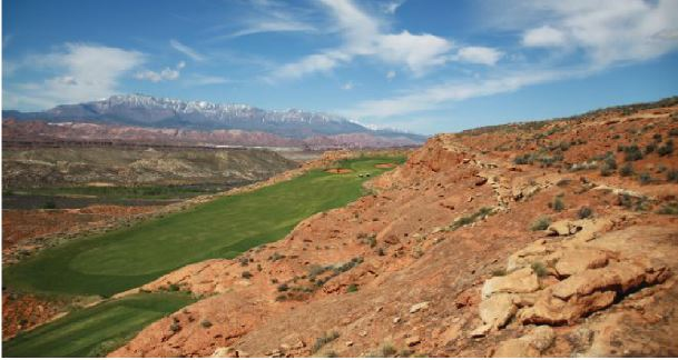 In addition to being beautiful, Sand Hollow is a course that demands your best play.