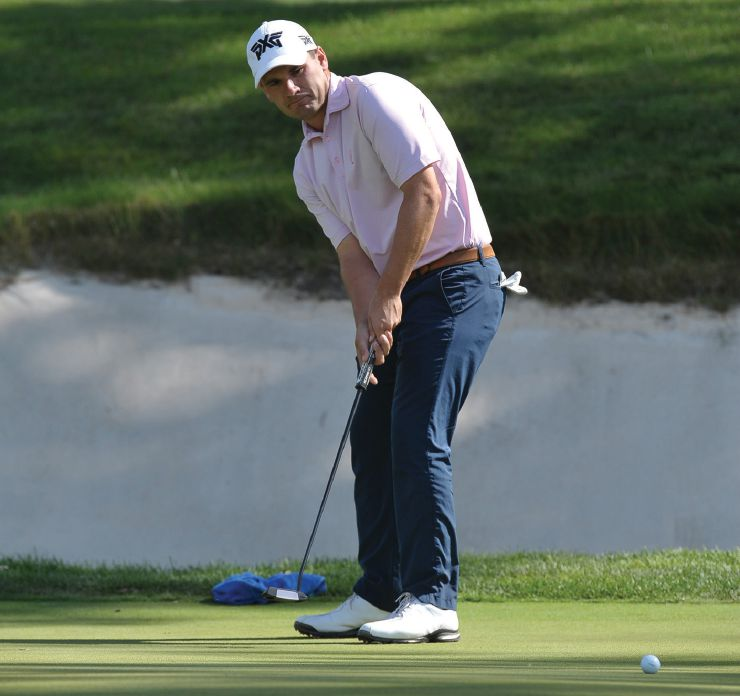 Schumacher's consistency was too much for the rest of the field to overcome. NICK NOVELLI/ILLINOIS PGA
