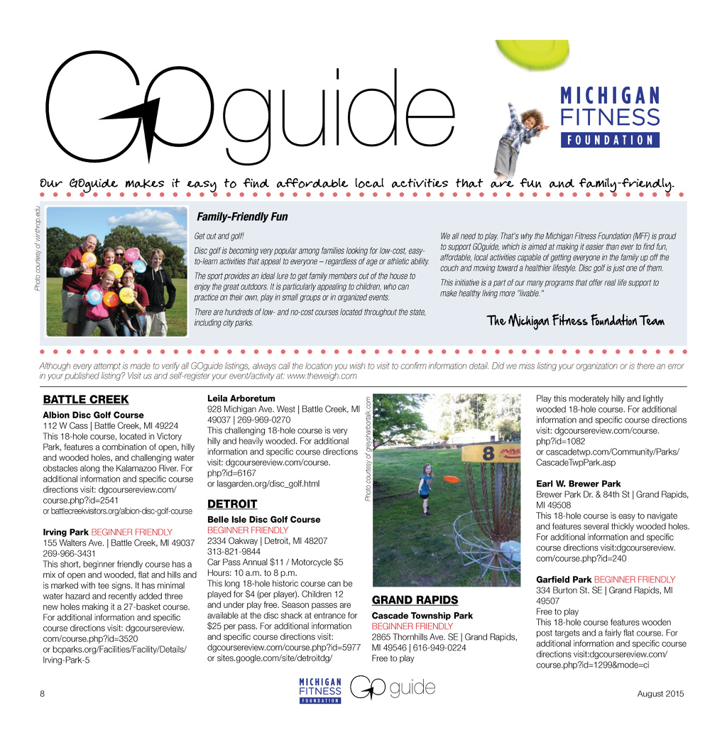 Go Guide August 2015