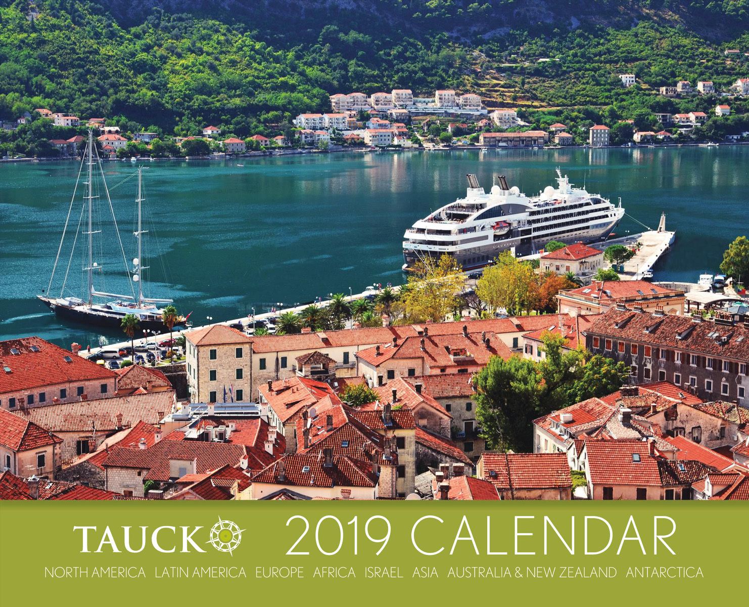 Pictures of Tauck 2021 Calendar