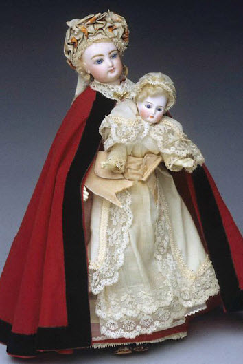 One of Margaret's thousands of dolls
