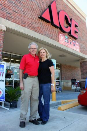 Chuck and Arlene O'Malley are the owners of Langham Creek Ace in Cypress, Texas.
