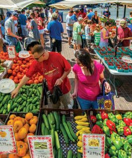 Old Town Farmers' Market, Rusty Kennedy/Visit Alexandria