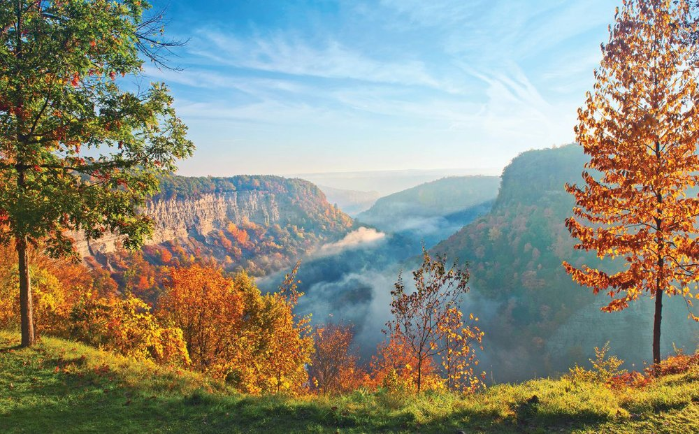 Great Bend Overlook, Letchworth State Park