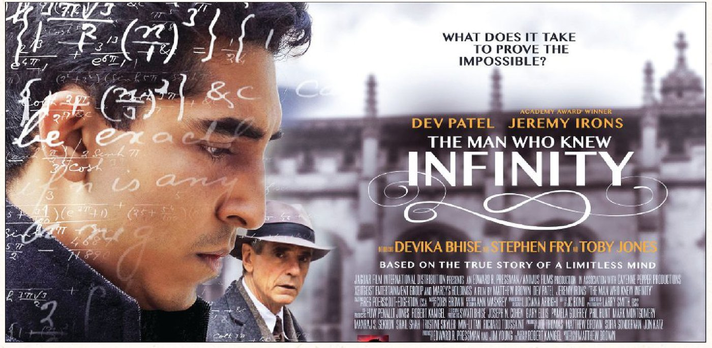 Honoring a great mind: The film's official poster INFINITY COMMISION