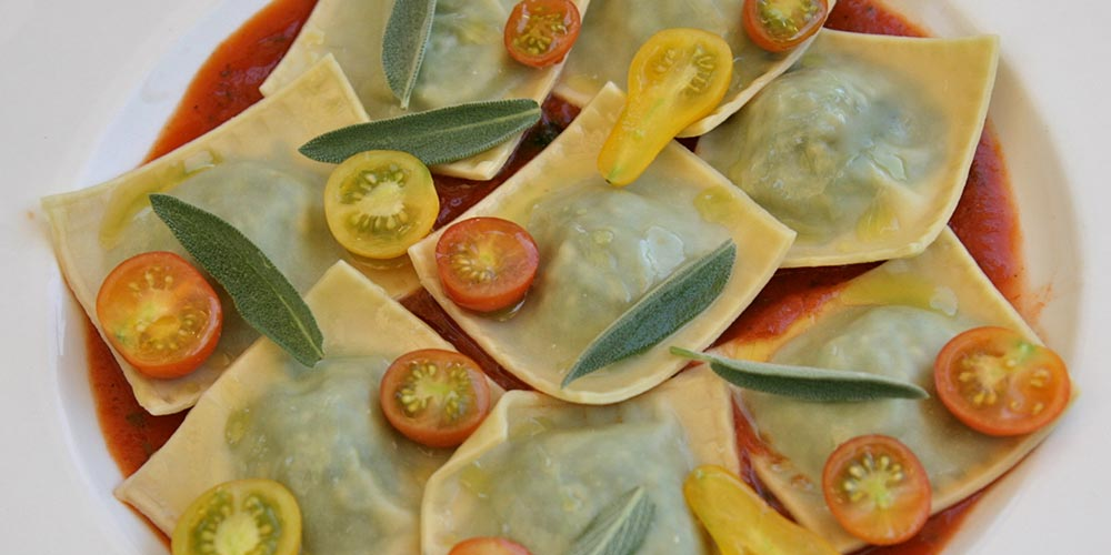 Photo courtesy of Umbria | Ravioli Con Pomodorini