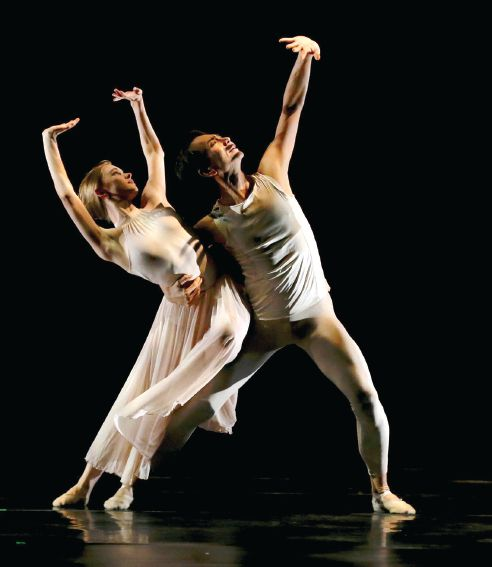 Ballet Frontier offers new works in the Director's Choice program Photo by Nancy Loch