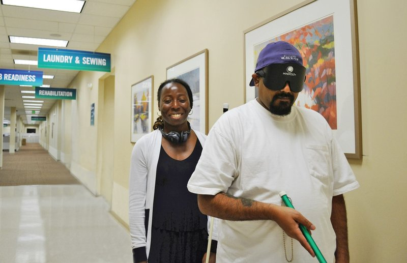 The Lions Vision Center at the Johns Hopkins Wilmer Eye Institute provides important rehabilitation services to people who are blind or visually impaired throughout the greater Baltimore area.
