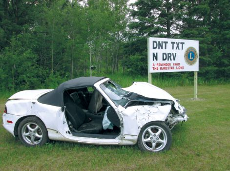Karlstad Lions are sending a clear message to drivers in Minnesota.