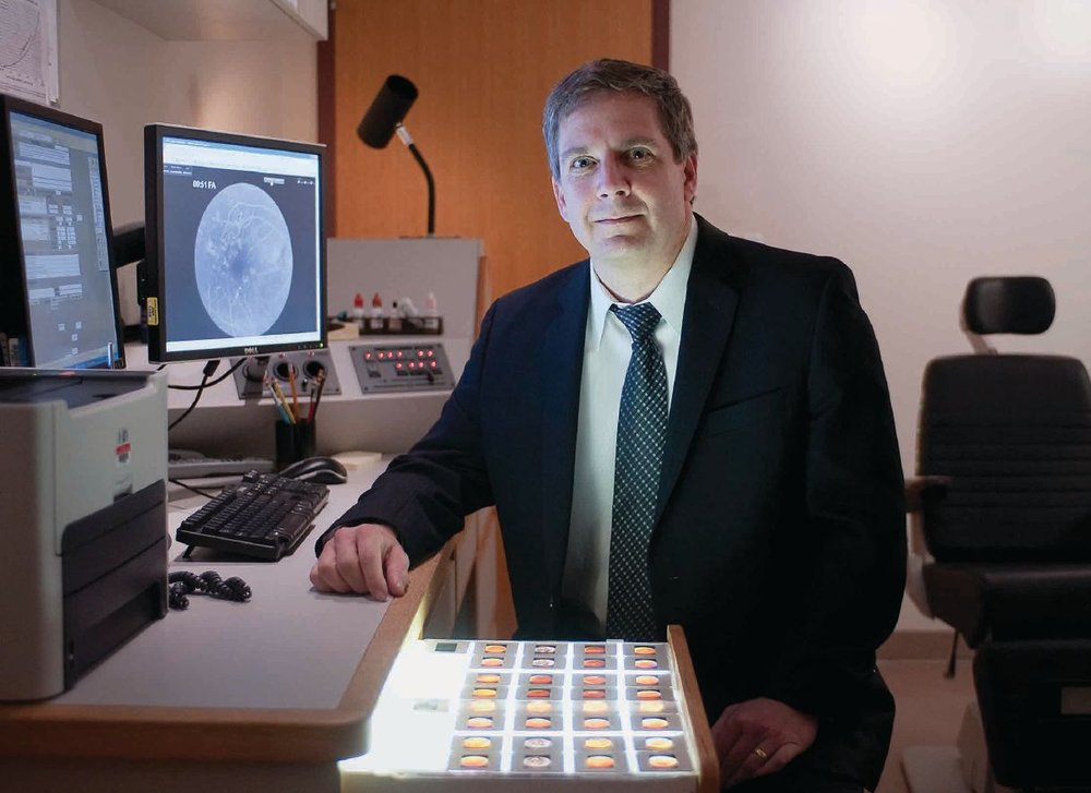 Dr. Lloyd Aiello made a key discovery about eye disease thanks to Lions' funding