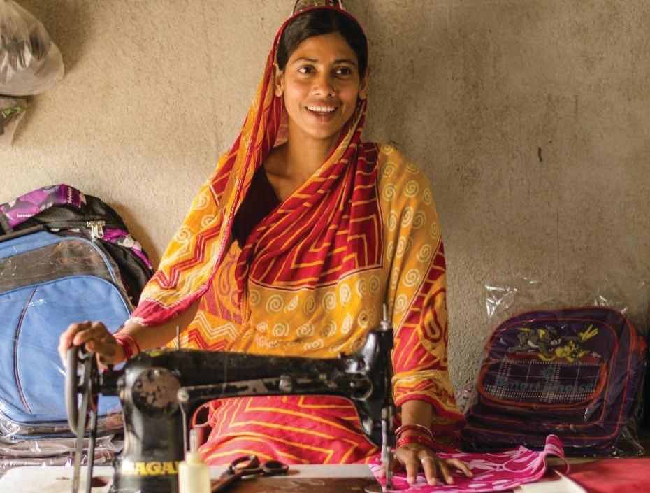 Microfinance loans provide an option for women to break the cycle of poverty and support their families.