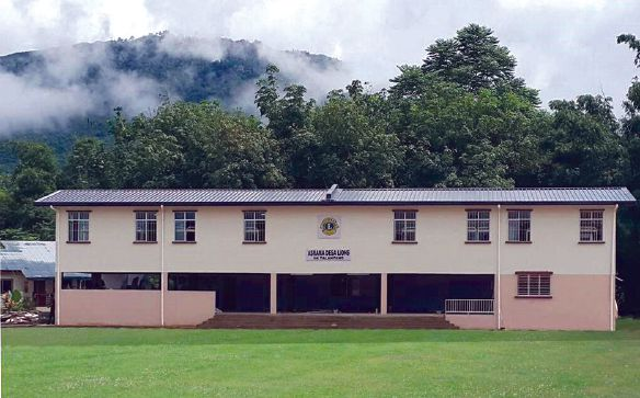 The new dormitory at the school has changed students' lives.