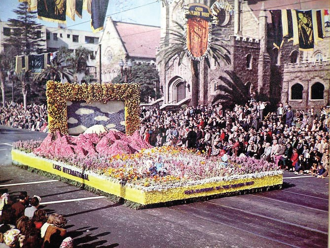 Lions first entered a float in the 1948 parade and have entered every year since 1992.