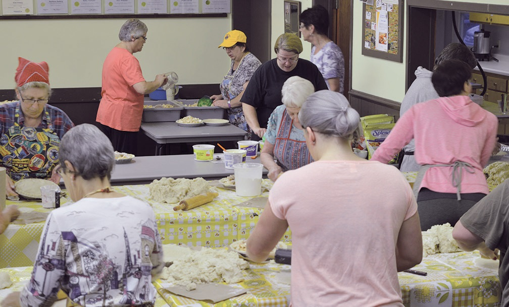 There's nothing like homemade apple pie in Nova Scotia where the New Germany and Area Lions made more than 1,300 pies in one day to sell to the community.