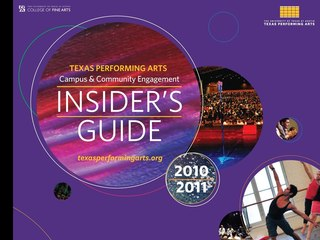 Texas Performing Arts Insider's Guide