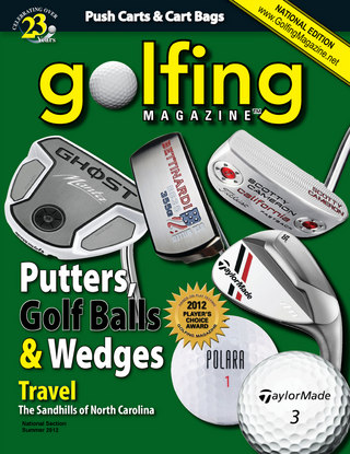 Golfing Magazine National Summer 2012 Issue