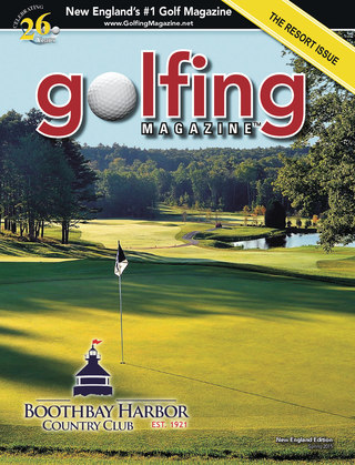 2015 Golfing Magazine New England Spring Issue