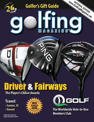 2015 Golfing Magazine Early Summer National Edition
