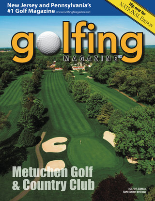 2015 Golfing Magazine New Jersey Early Summer Issue